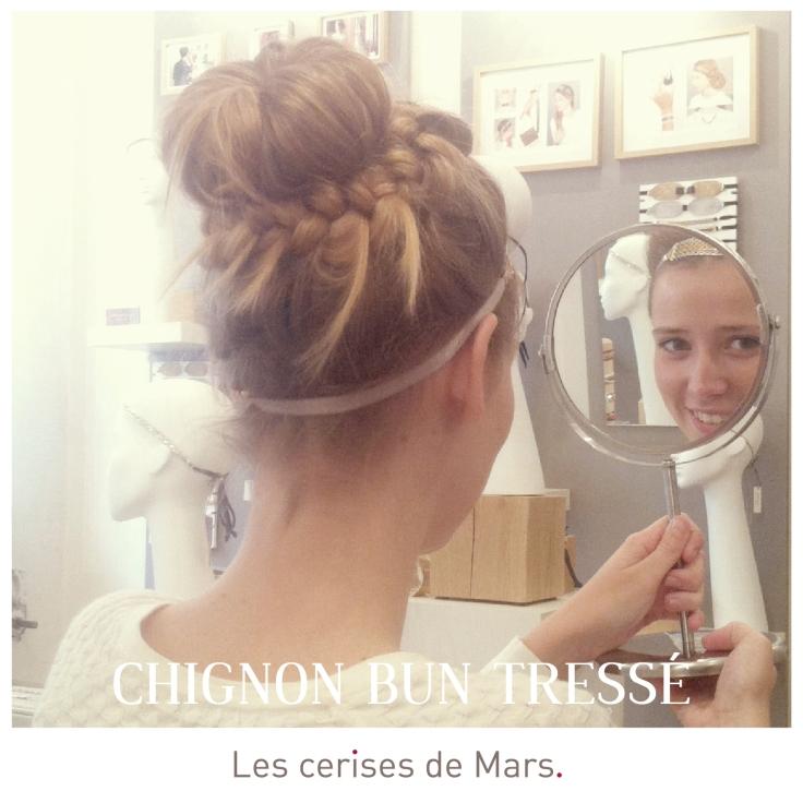 Chignon Bun Tressée